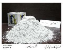 کائولن سفید میکرونیزه معدن کاوان