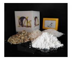 فروش سیلیس دانه بندی شده و میکرونیزه پودری شرکت معدن کاوان