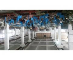 . واردات و فروش و نصب و راه اندازی خط تولید کیسه سیمان