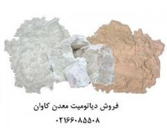 فروش دیاتومیت طبیعی و دیاتومیت فرآوری شده کلسینه وارداتی (خاک فسیل)
