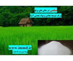 فروش سیلیس مورد استفاده در شالی های برنج
