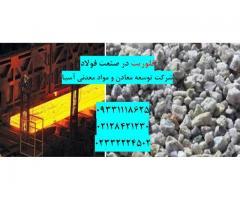 فروش فلورین در صنعت فولاد