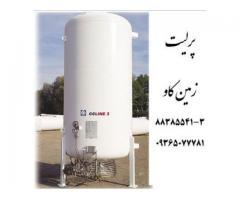 استفاده از پرلیت Perlite زمین کاو در مخازن کرایوژنیک (Cryogenic tank)